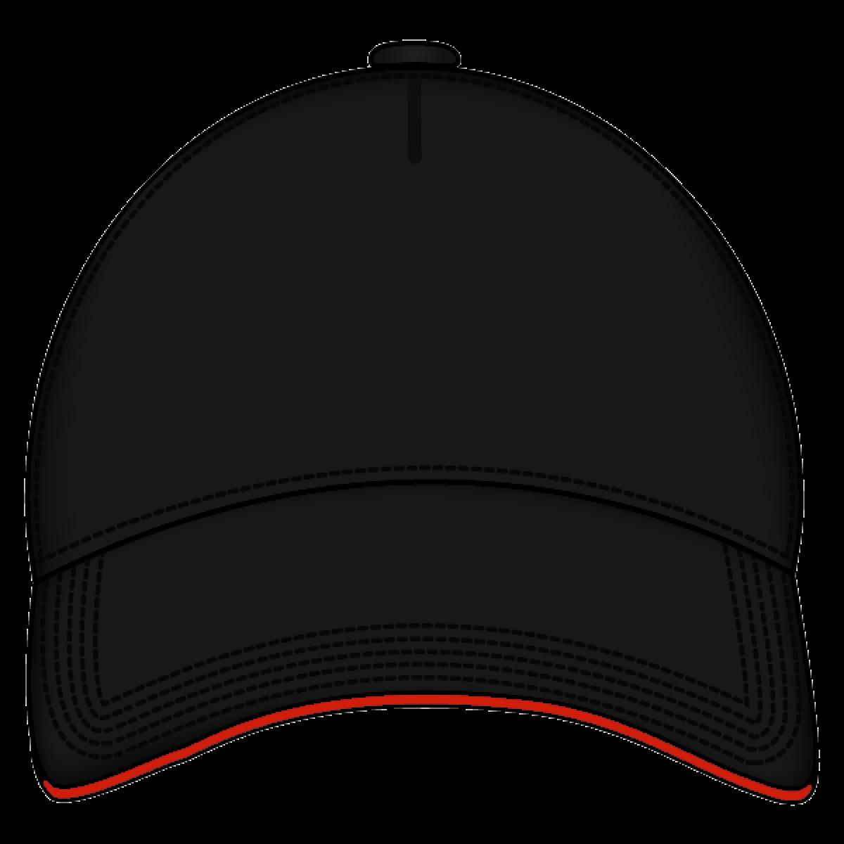 Hats clipart transparent background. Cap black front png