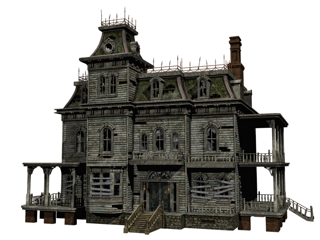 Haunted house png. Stock by roy d