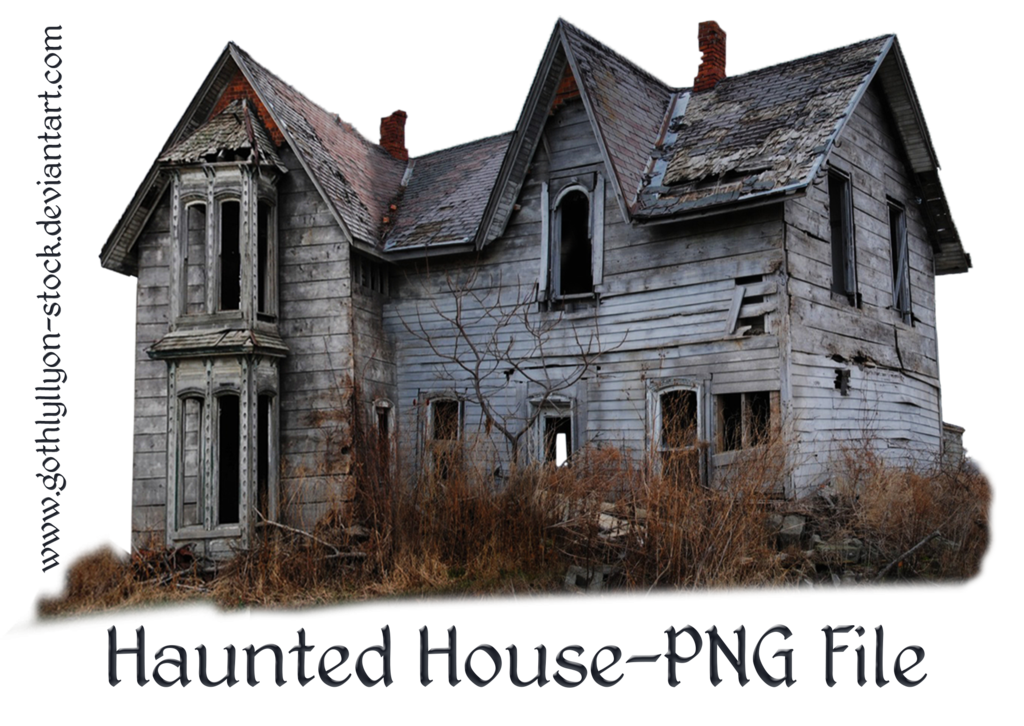 By gothlyllyon stock sotck. Haunted house png