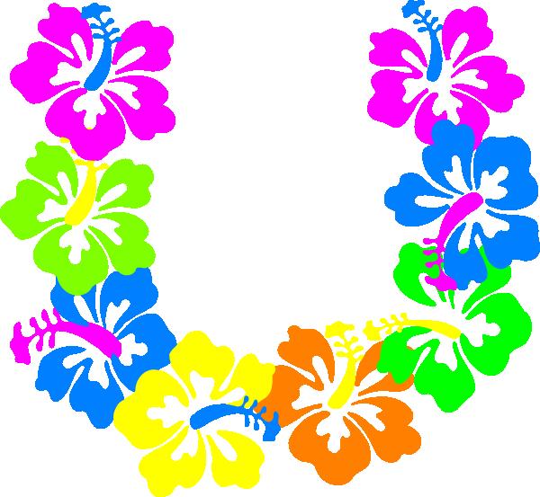 Border free download best. Hawaiian clipart hawaiian necklace