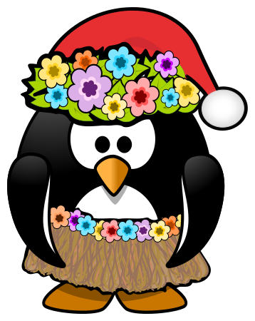 Free cliparts download clip. Hawaiian clipart christmas