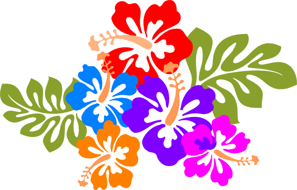 Hawaiian flower hawaii . Hibiscus clipart hawaian