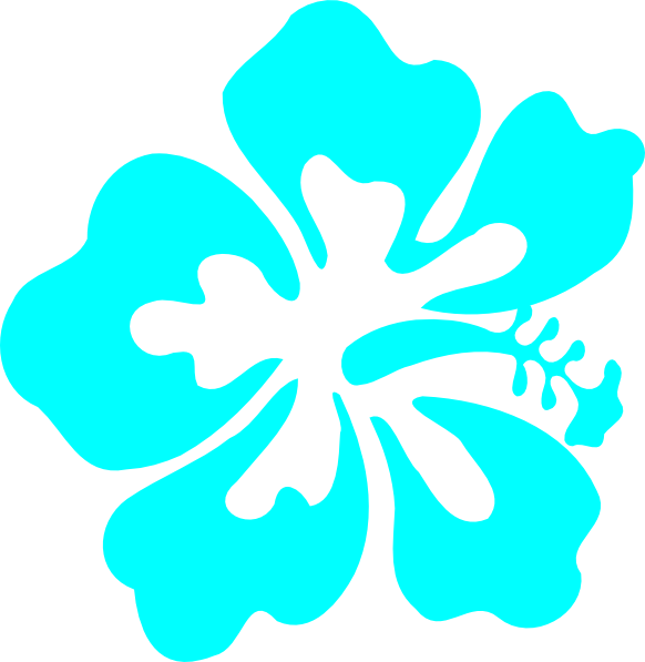 Hibiscus clipart flower boarder. Clip art at clker