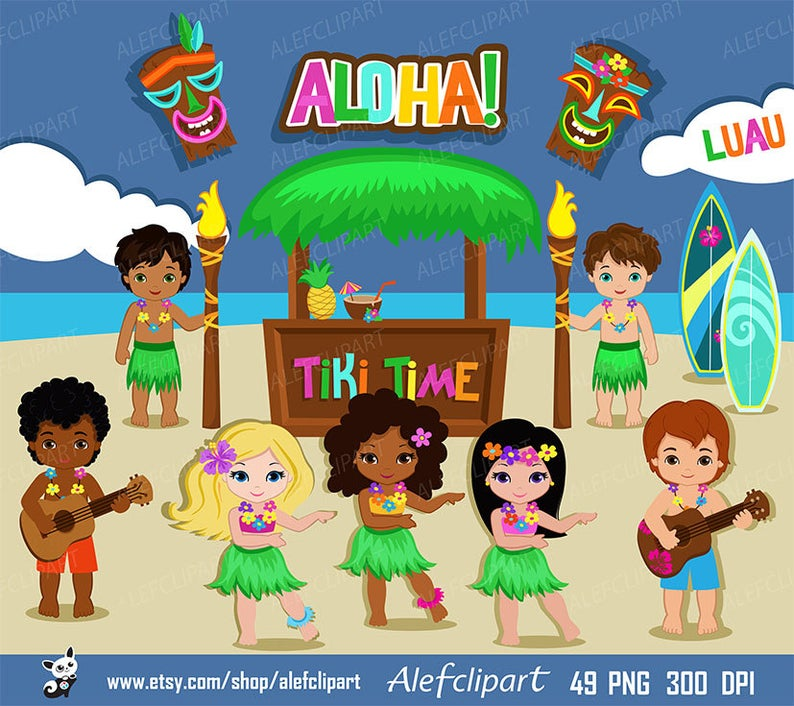 Luau hawaii hula girl. Hawaiian clipart lady hawaiian