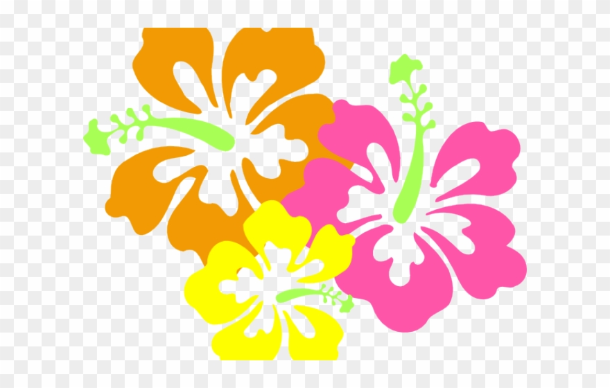 Surfing hawaii theme clip. Hibiscus clipart themed