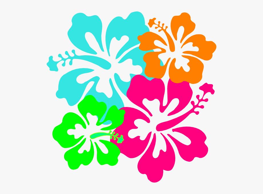 Hibiscus flower free . Hawaiian clipart hawiian