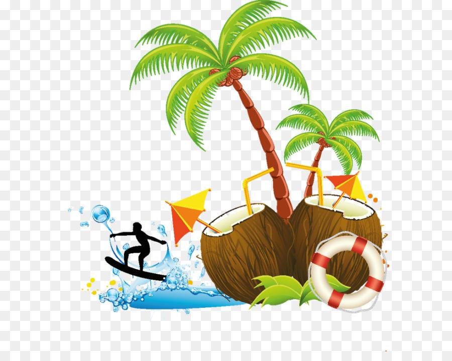 Hawaii clipart tree hawaiian. Palm background coconut plant