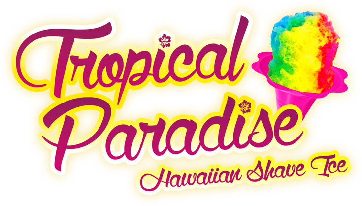 Tropical paradise keep calm. Ice clipart shave ice