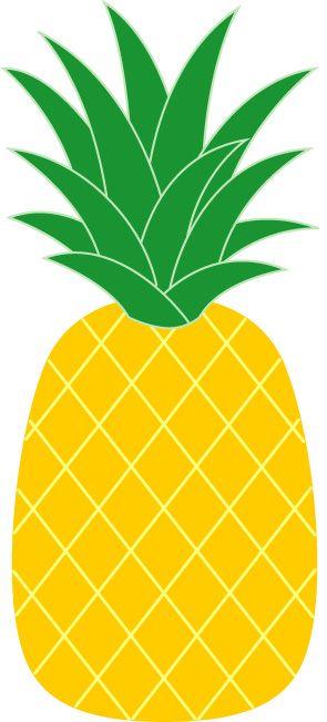 Hawaiian pineapple clip art. Hawaii clipart yellow food