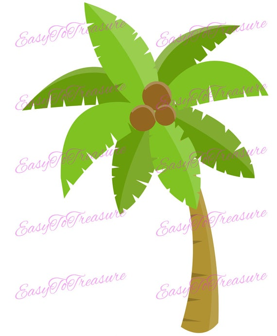 Palm clip art luau. Hawaiian clipart coconut tree