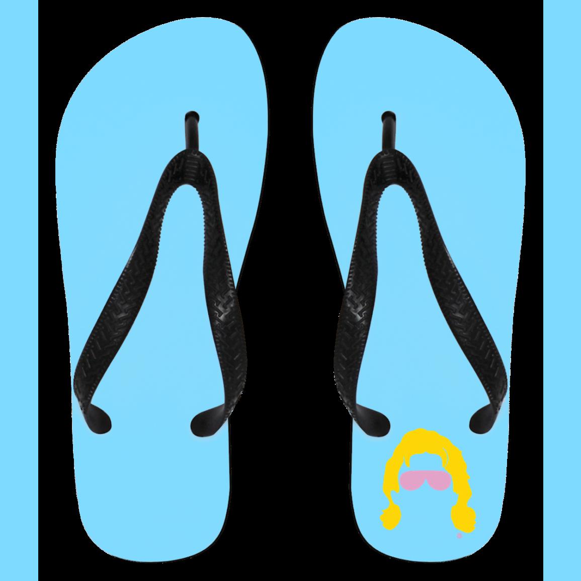 Silhouette at getdrawings com. Hawaiian clipart flip flop