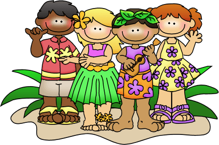 Cliparts zone . Hawaiian clipart hawaiian attire