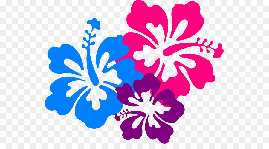 Flowers background png download. Hawaiian clipart hawaiian floral