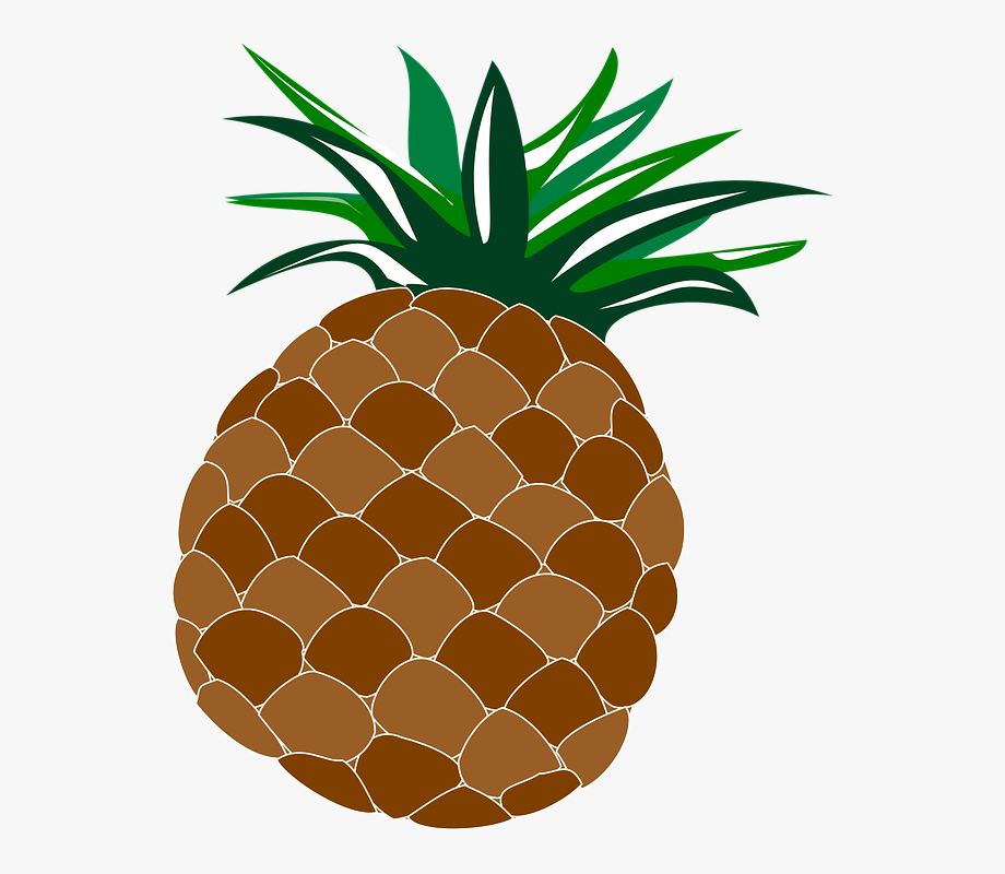 Food fruit hawaii luau. Pineapple clipart hawaiian theme