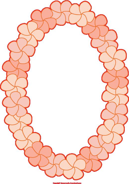 Hawaiian clipart hawaiian necklace. Free luau click to