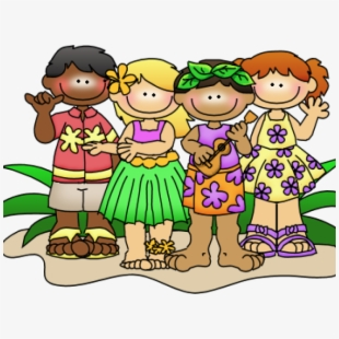Hawaii day kids clip. Hawaiian clipart hawaiian outfit