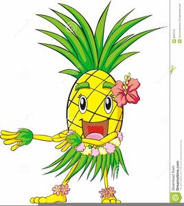 Free images at clker. Hawaiian clipart hawaiian pineapple