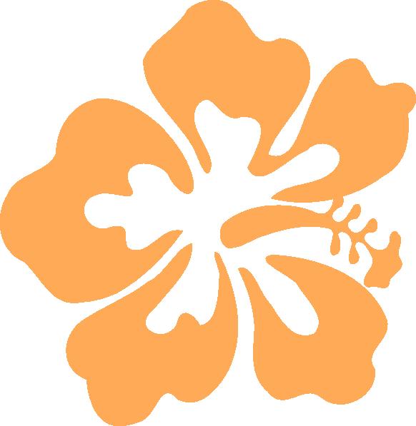 Clip art at clker. Hibiscus clipart island flower