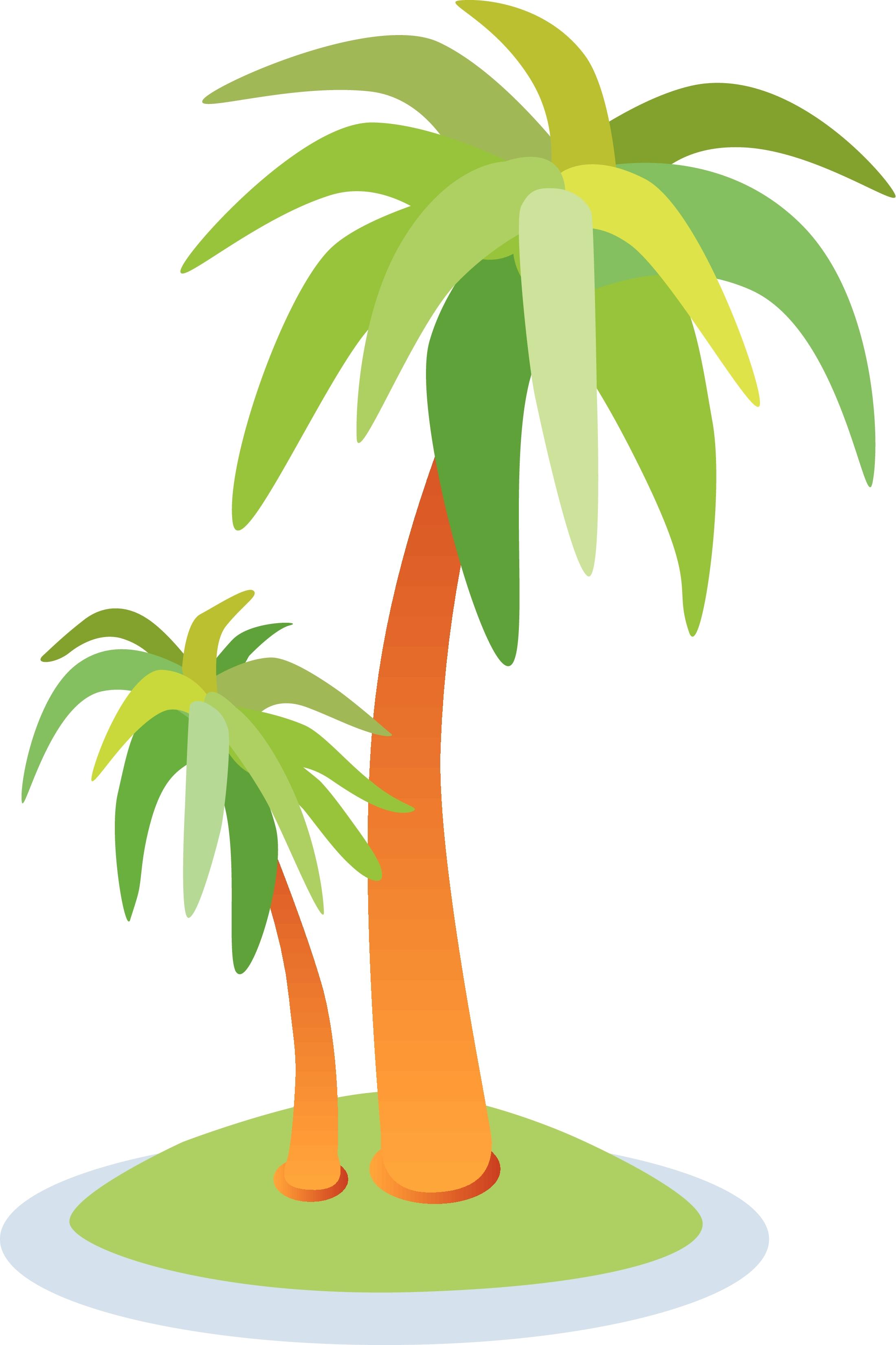 Cartoon hawaii tree clip. Palm clipart word