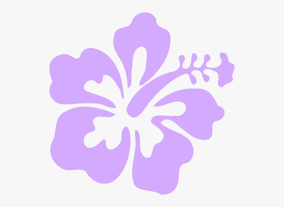 Red free cliparts on. Hawaiian clipart purple hawaiian flower