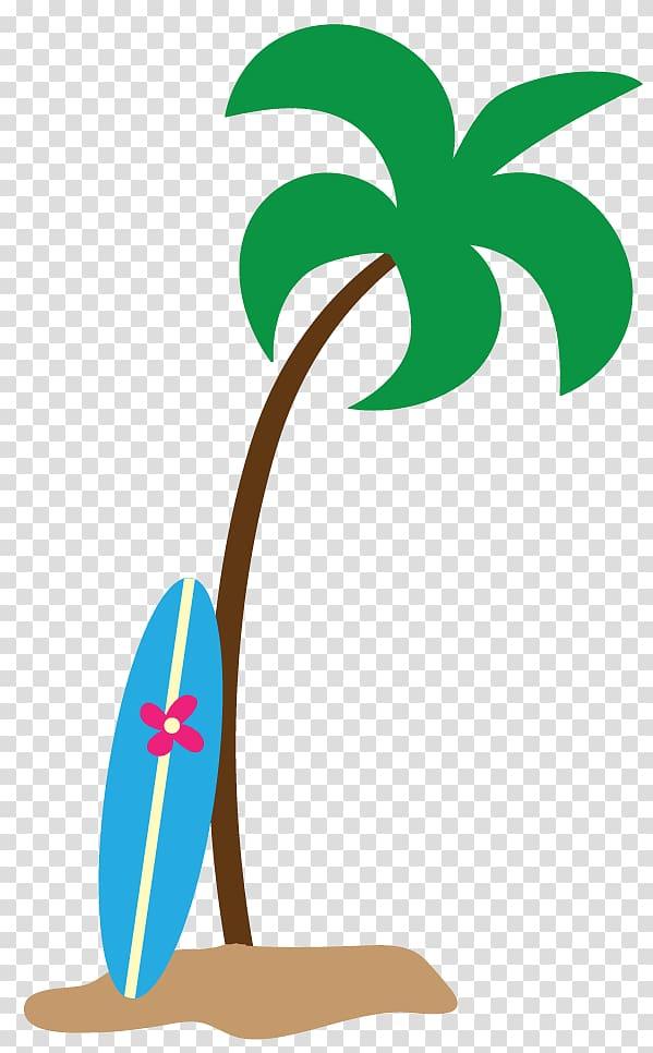 Hawaiian clipart surfer hawaiian. Surf board on palm