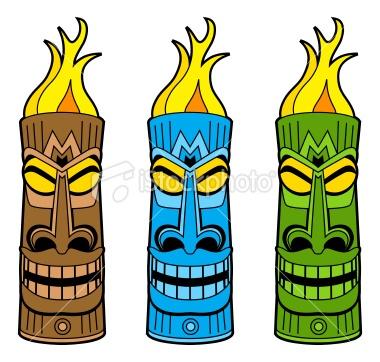 Free download best on. Hawaiian clipart tiki torch