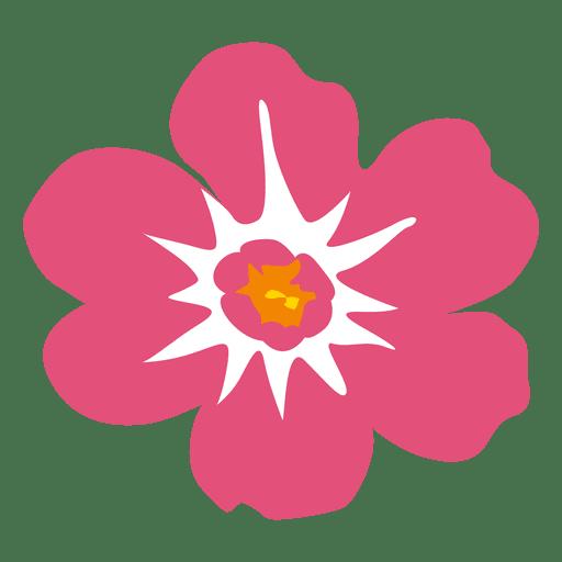 Hawaiian flower png. Pink transparent svg vector