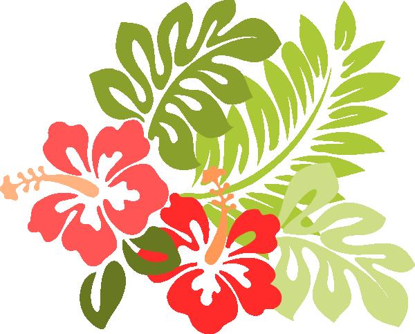 Hawaiian flower png. Http www clker com