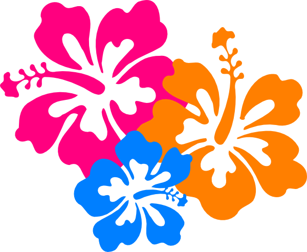 Hawaiian clipart hawaiian floral. Png flower transparent images