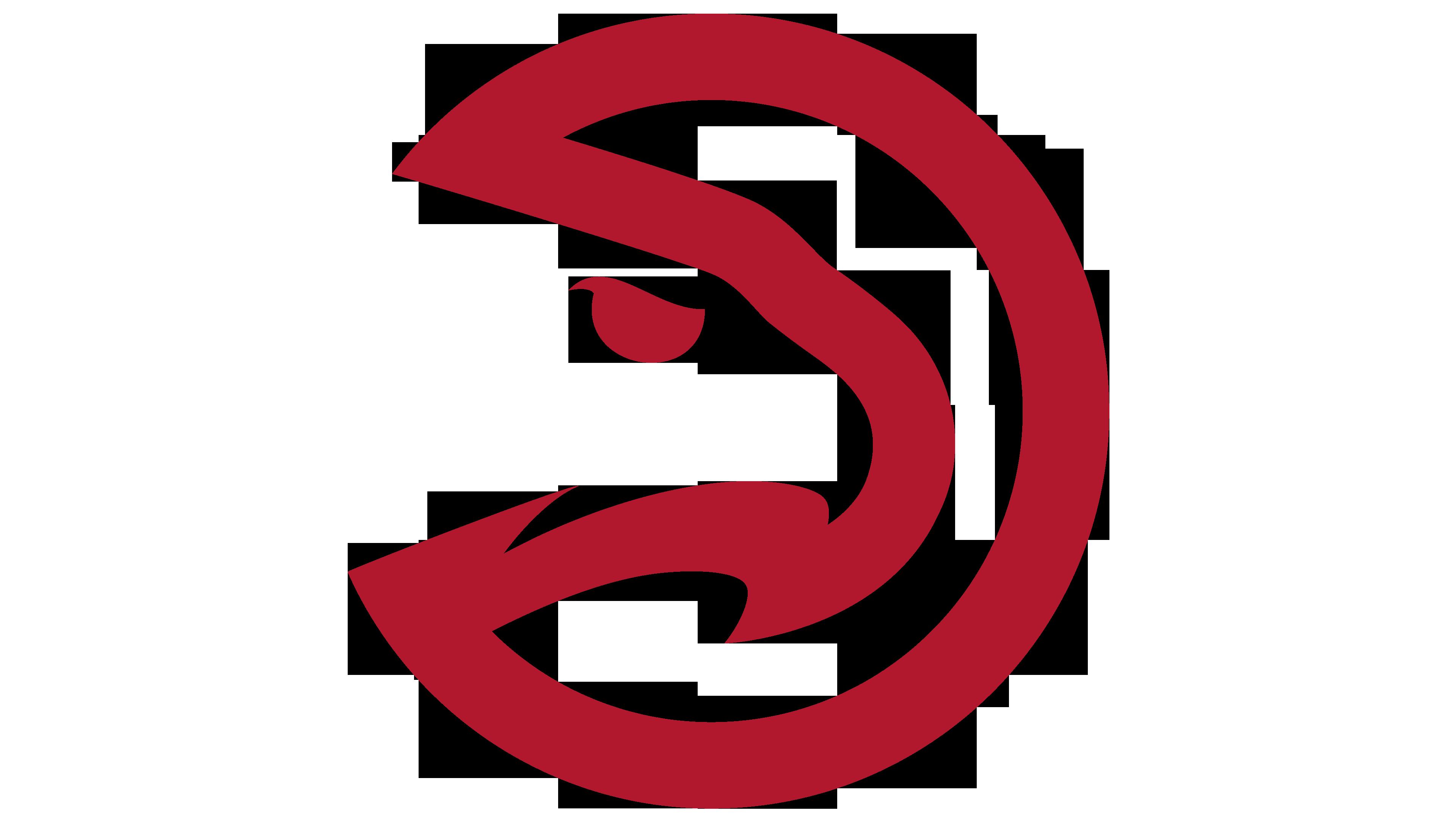 Atlanta hawks logo interesting. Hawk clipart hawk head
