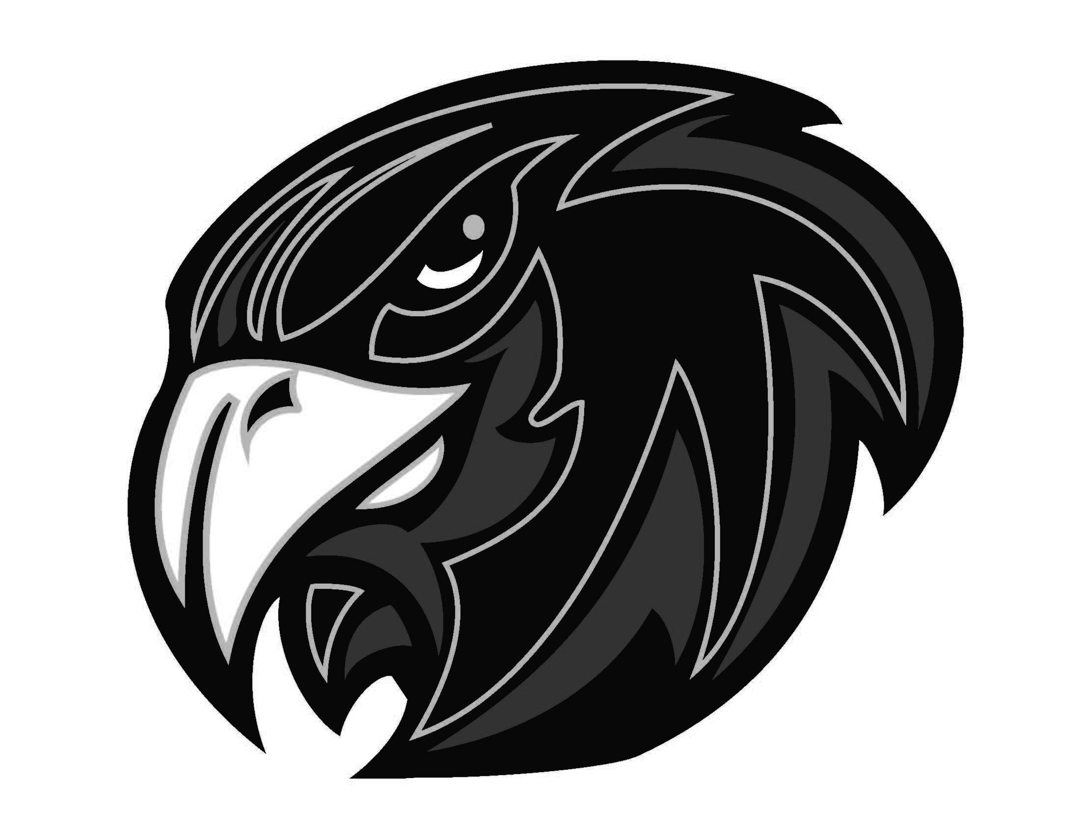 Hawk clipart logo. Top head vector images