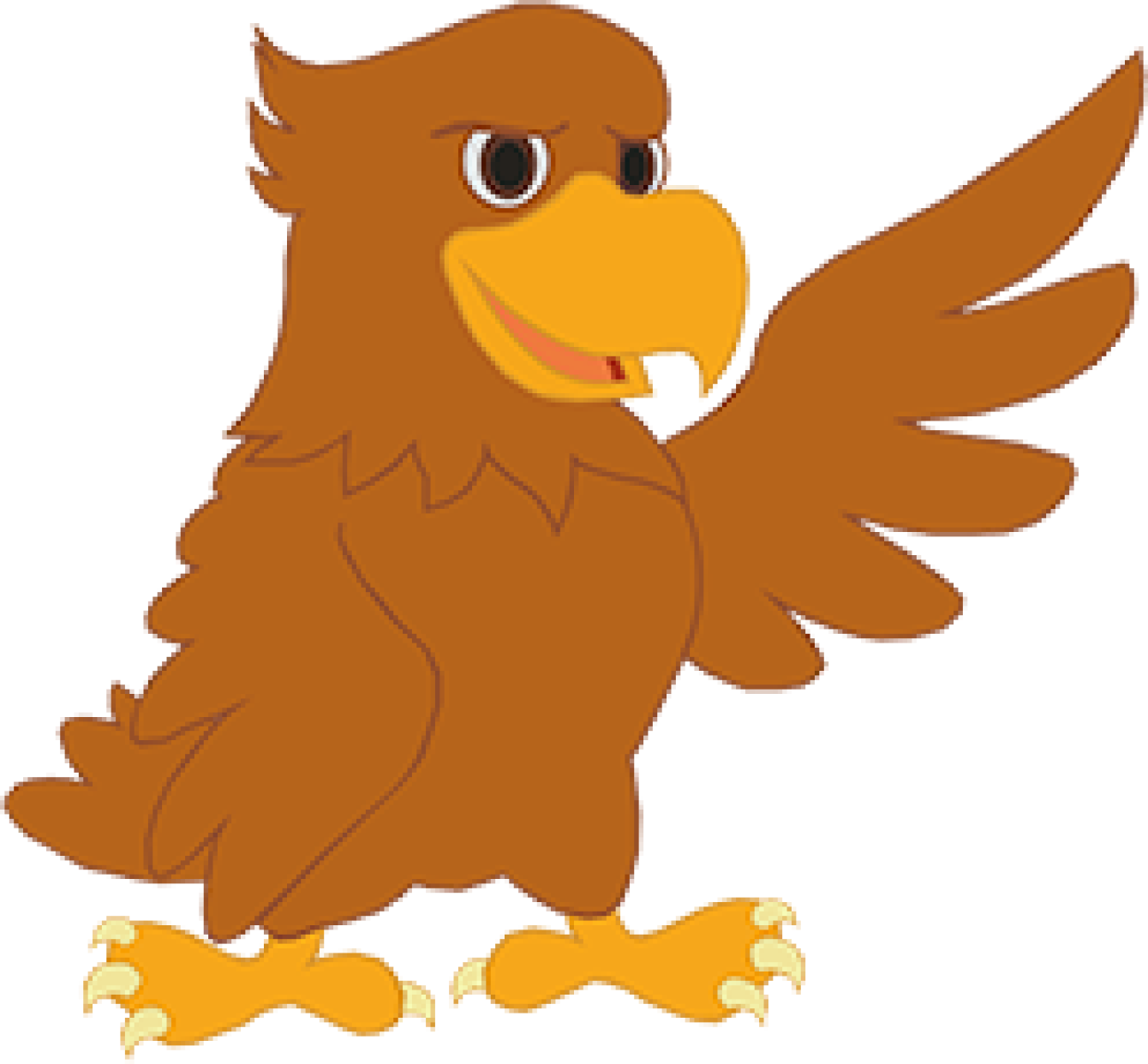 About hancock north central. Hawk clipart strong eagle