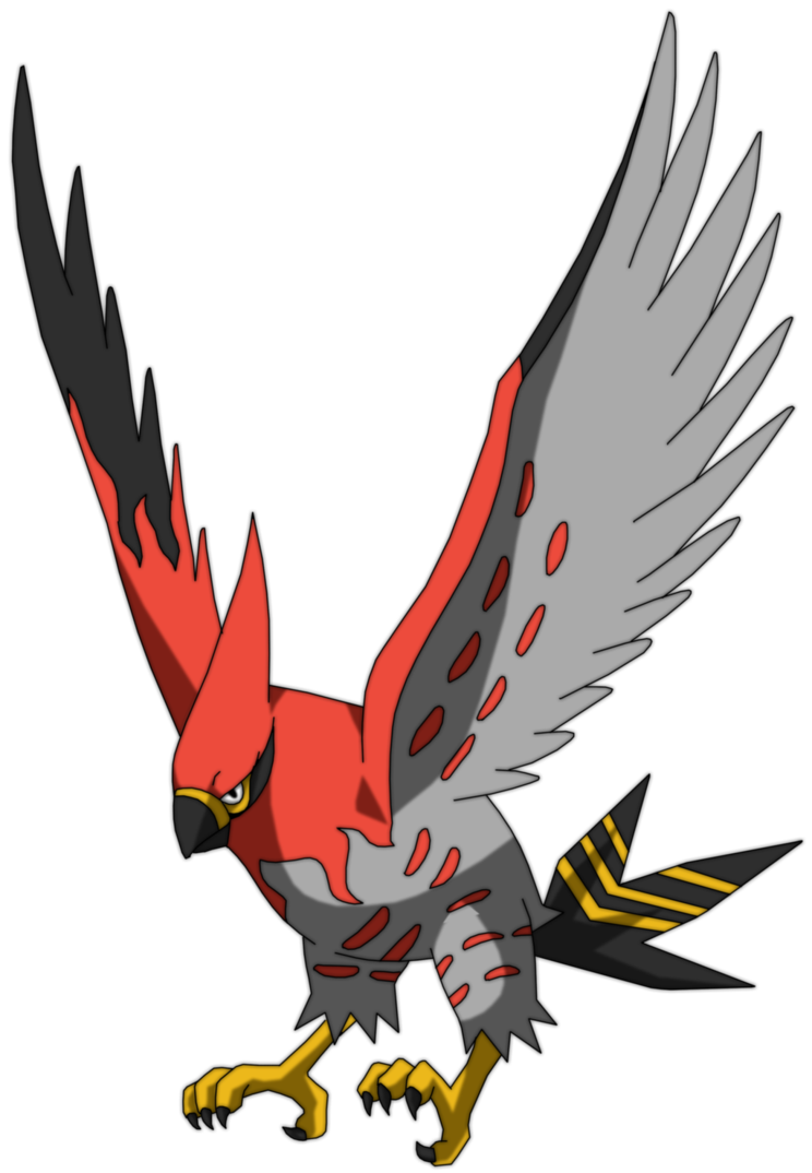 Talonflame by uraharataichou on. Hawk clipart wings