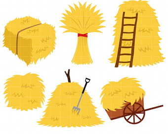 Free haystack cliparts cute. Wheat clipart hay