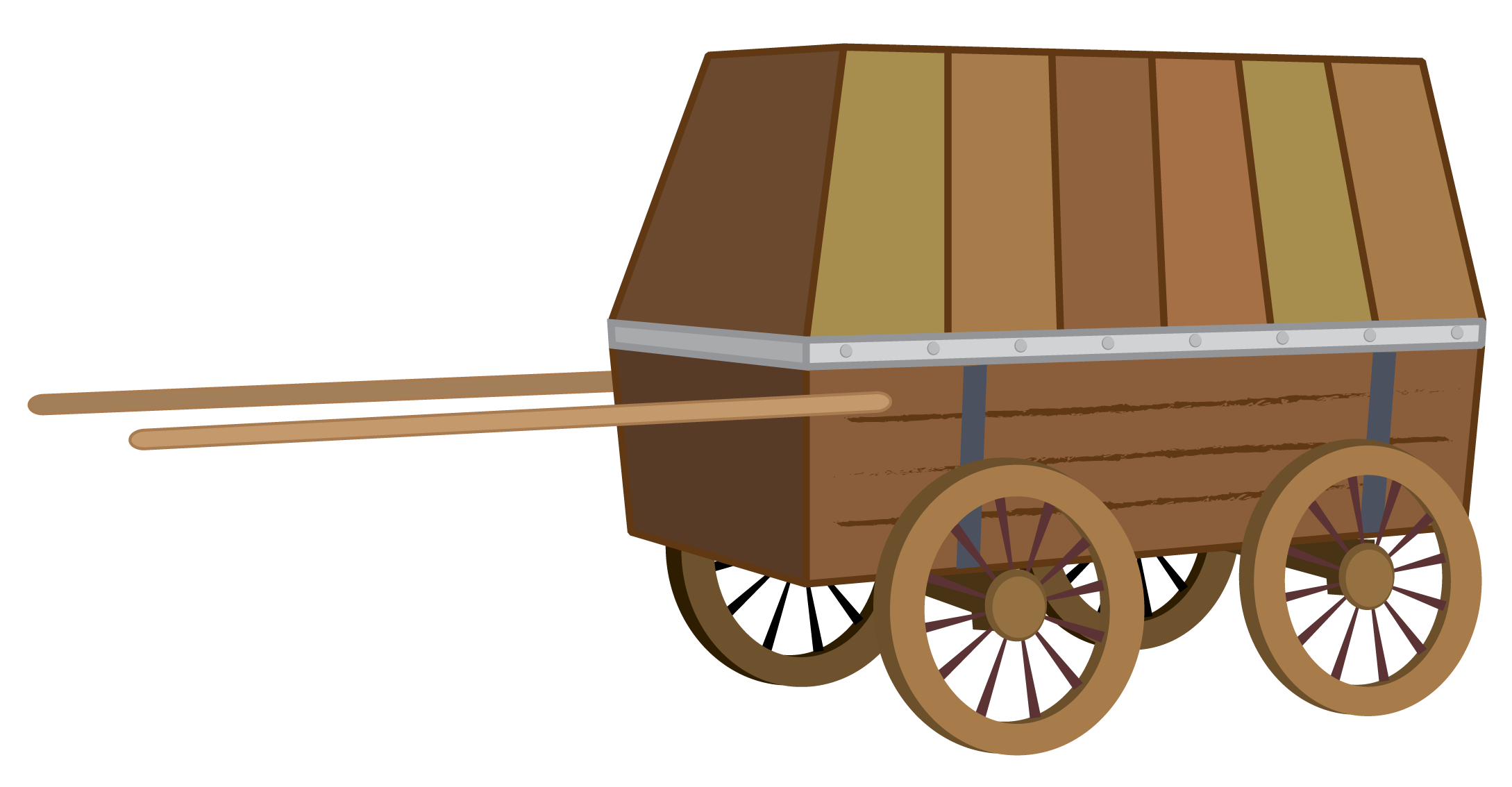 . Wagon clipart little red wagon
