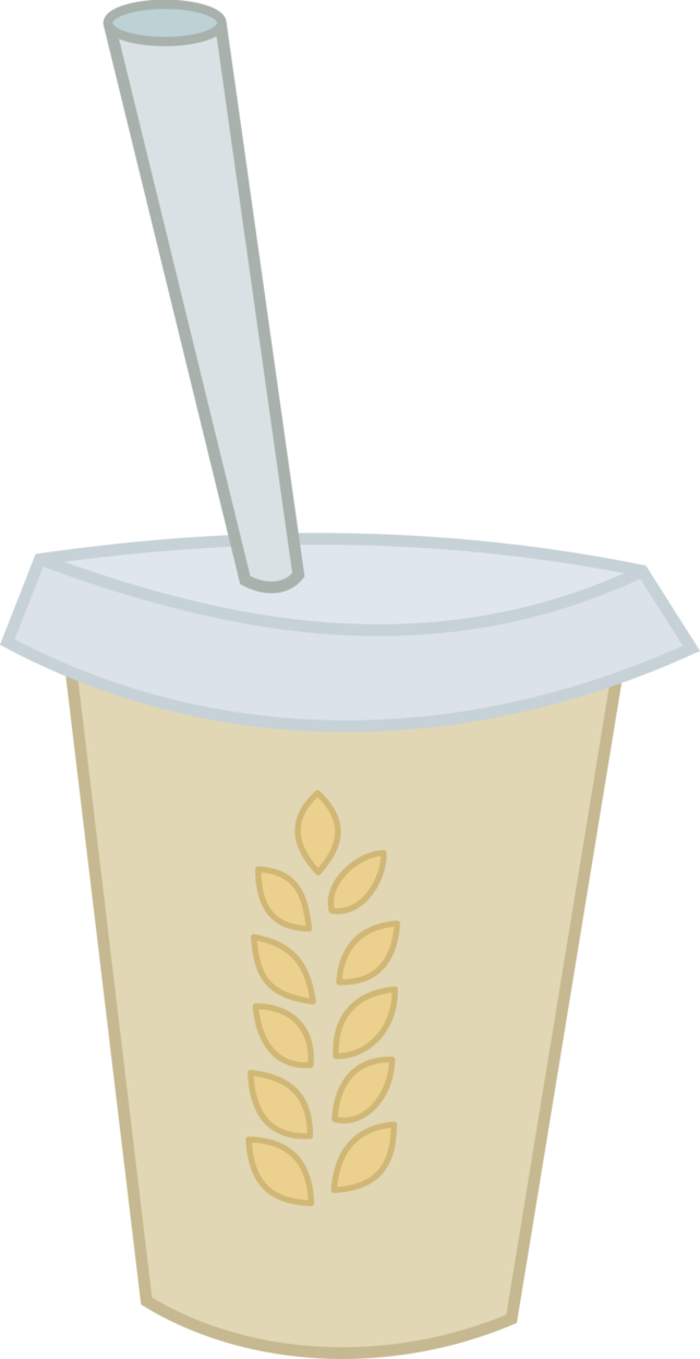 Smoothie extra hay by. Milkshake clipart vector
