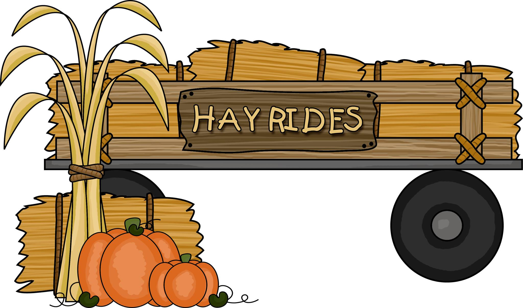 Tipsy tractor hayrides october. Hayride clipart