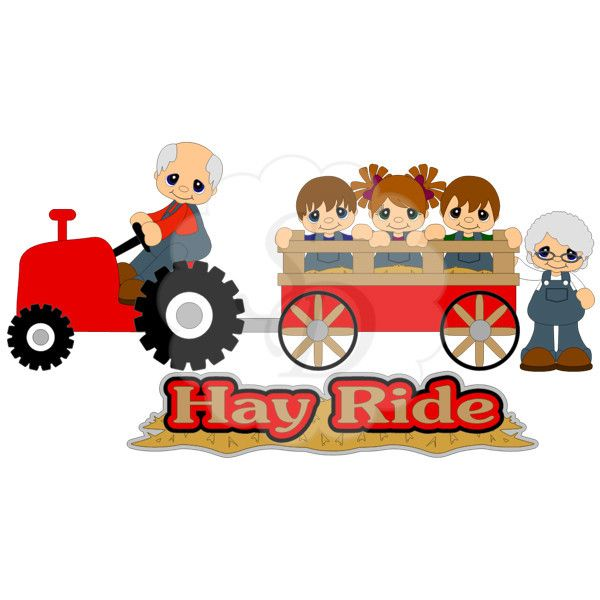 Hayride clipart. Fall clip art images