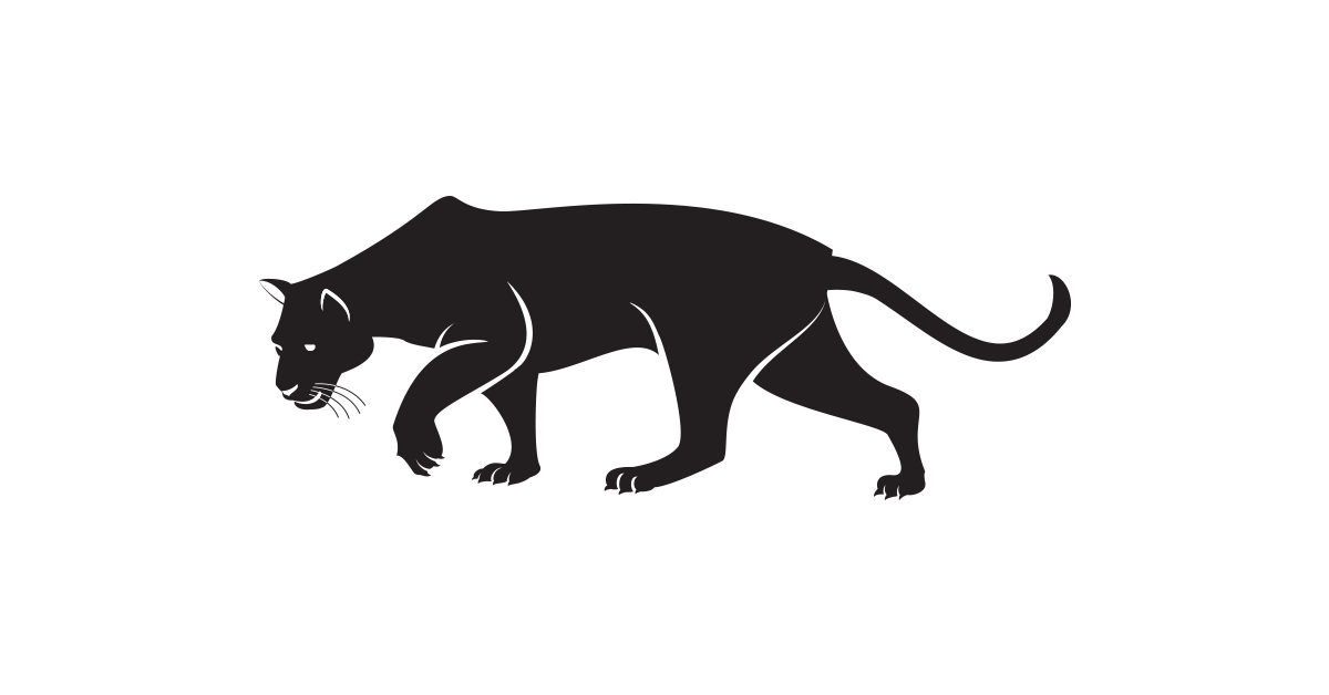Png transparent free images. Yearbook clipart panther