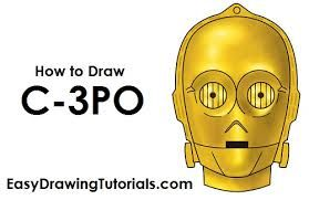 Image result for c. Head clipart c3po