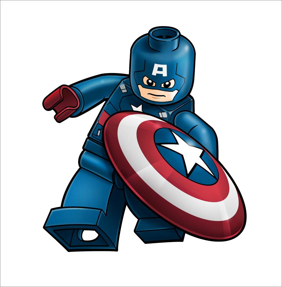 Pinterest lego capt and. Head clipart captain america