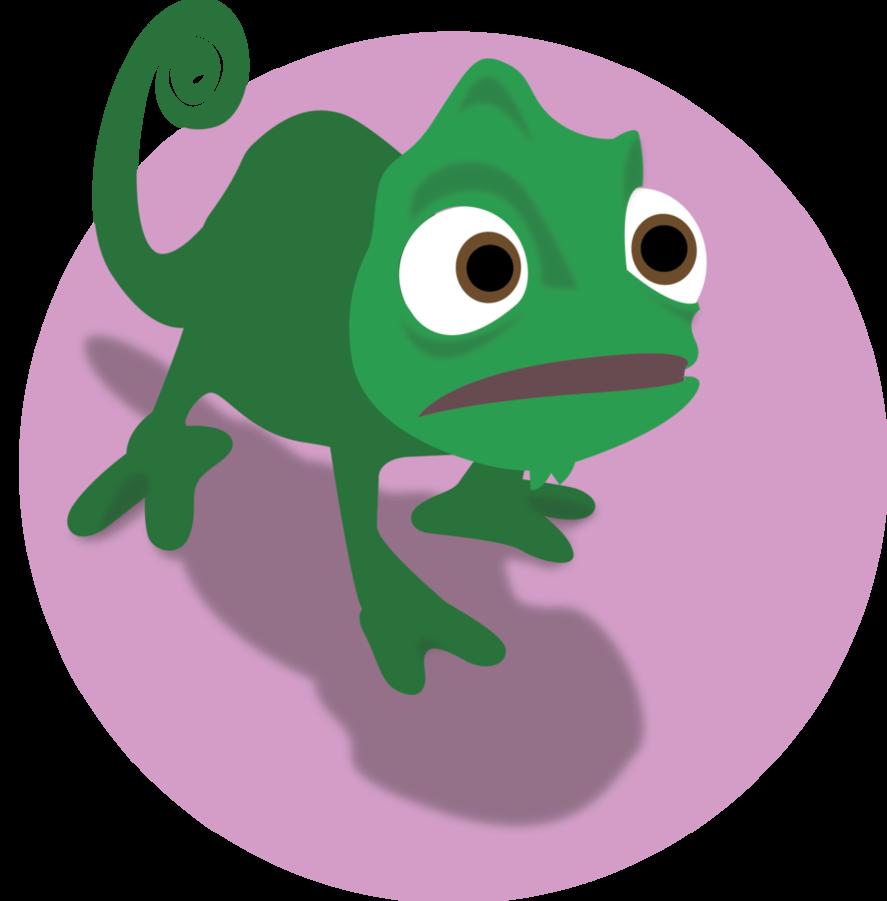 pascal chameleon drawing