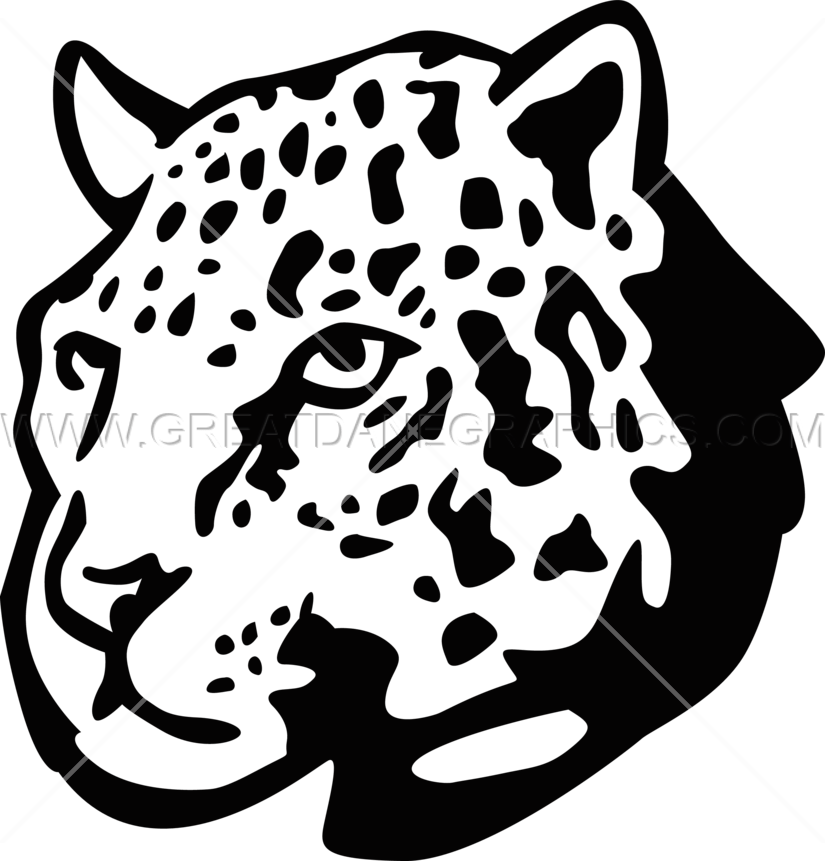 Production ready artwork for. Head clipart cheetah