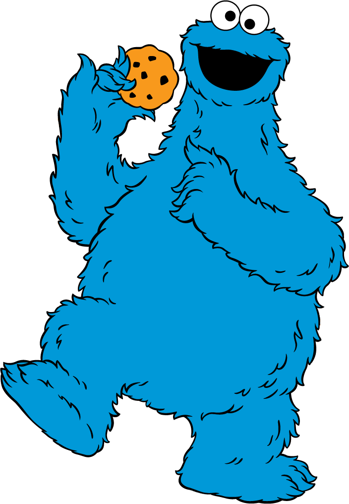 Many interesting cliparts restore. Head clipart cookie monster