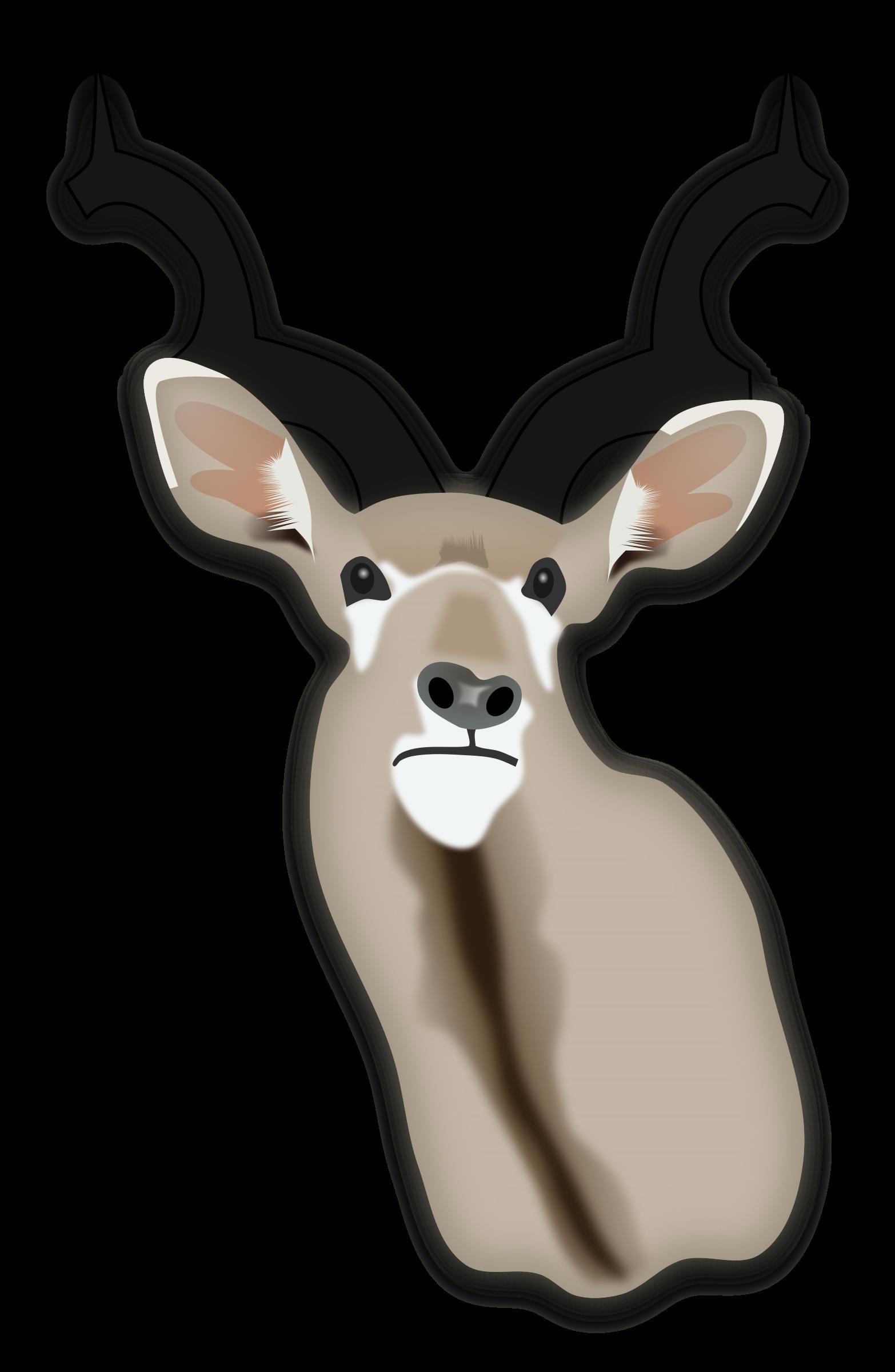 Trophy big image png. Hunting clipart deer horn