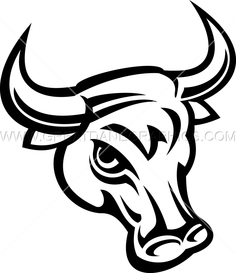 Bull head drawing at. Longhorn clipart sketch