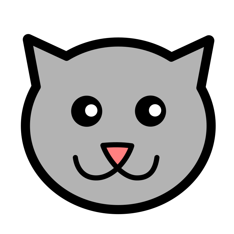 Head clipart kitty. Icon medium image png