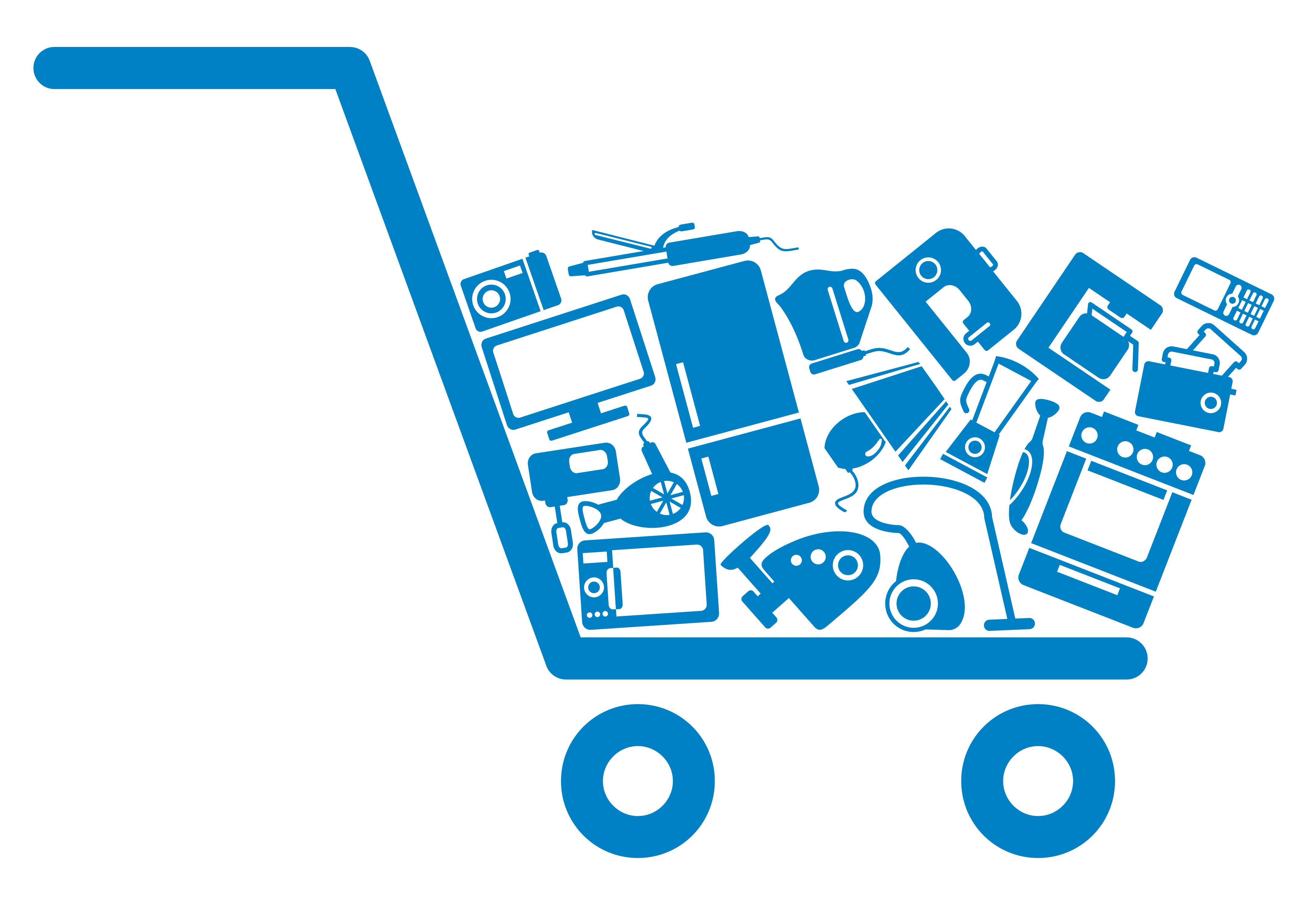 Cart online free illustration. Shop clipart customer