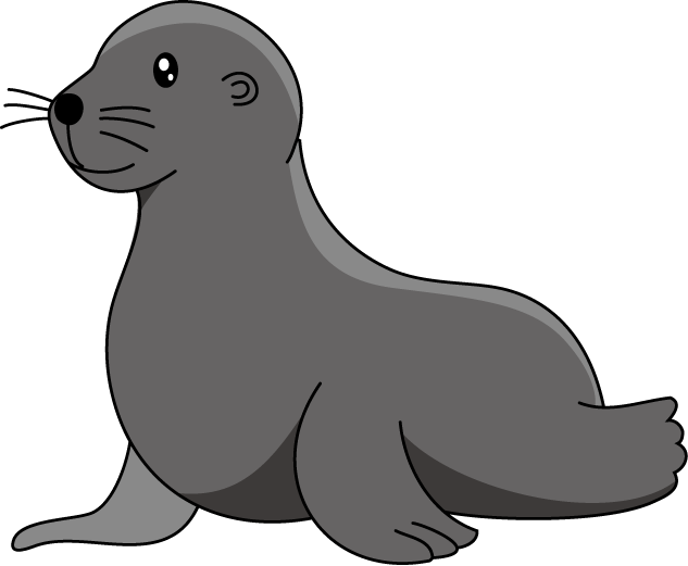 Seal clipart baby seal. Kehelland village school godrevy