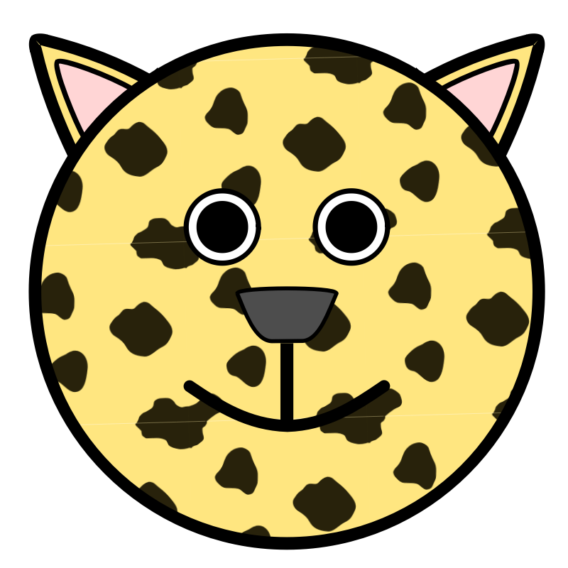 Head clipart question. Leopard free on dumielauxepices